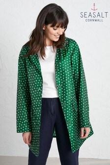 ז'קט 'The Pack It Jacket Ii' בצבע ירוק של Seasalt