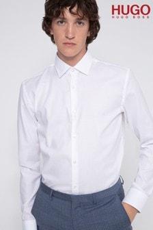 חולצה של HUGO דגם Koey בלבן