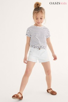 Oasis Crochet Trim Shorts