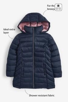 Водоотталкивающая легкая дутая куртка (3-16 лет)
