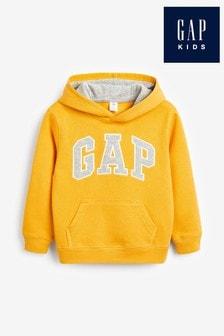 Gap Hoodie mit Logo, Goldfarben