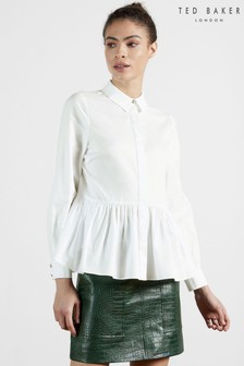 Ted Baker Cannan Gathered Over-Sized Shirt