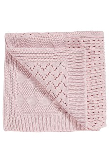 Knitted Blanket (Newborn)