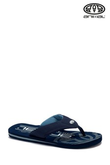 Animal Indigo Blue Jekyl Logo Too Flip Flops
