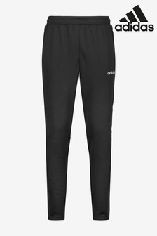 adidas Black 3 Stripe Sereno Joggers