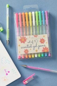 Set of 10 Scented Gel Pens