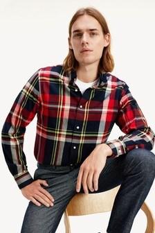 Tommy Hilfiger Black Extra Large Check Shirt