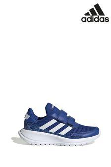 Сине-белые детские кроссовки adidas Tensaur