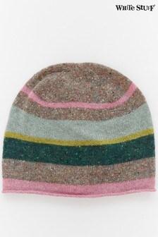 כובע גרב של White Stuff דגם Aspen בצבעי מלאנז'