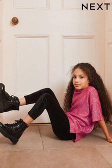 Ботинки на шнуровке с теплой подкладкой