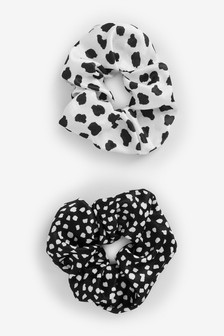 Spot Scrunchies Two Pack