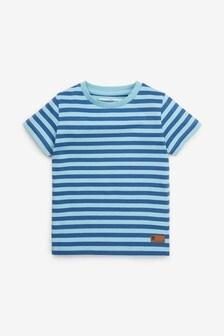 Pásikované tričko s krátkymi rukávmi (3 mes. – 7 rok.)