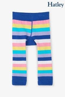 جوارب طويلة للبيبي ألوان متعددة قوس قزح ووحيد القرن من Hatley