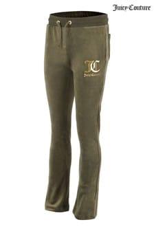 Велюровые брюки клешJuicy Couture