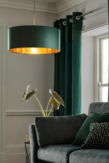 Green Rico Easy Fit Pendant Lamp Shade