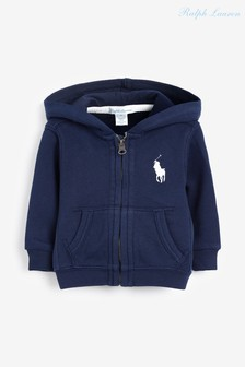 Ralph Lauren Navy Big Logo Zip Hoody