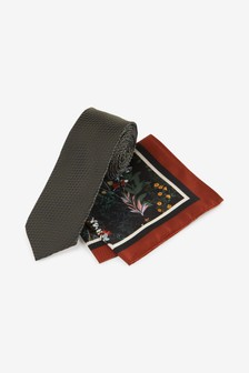 Meadow Tie And Pocket Square
