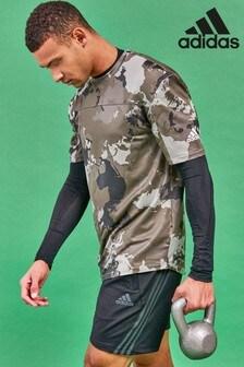 adidas Camo T-Shirt, Grün