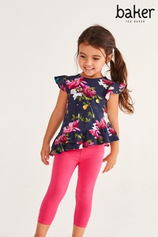 Baker by Ted Baker Girls Tunic And Leggings Set