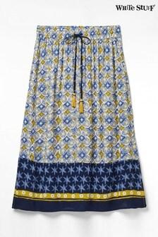 חצאית מקסי של WhiteStuff דגםArtisu Border