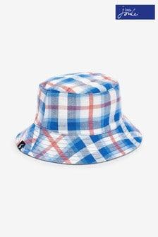 Pălărie de pescar reversibilă Joules Brit albastră