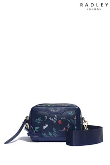 Radley London Whimsical Floral Small Zip Top Cross Body Bag