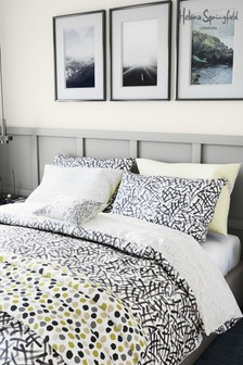 Set of 2 Helena Springfield Anise Abstract Geo Pillowcases