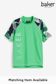 Baker by Ted Baker Sonnenschutz-Oberteil mit Camo-Print