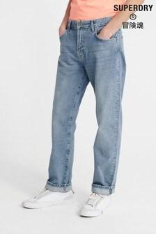 Прямые джинсы классического кроя Superdry 06 Ethan