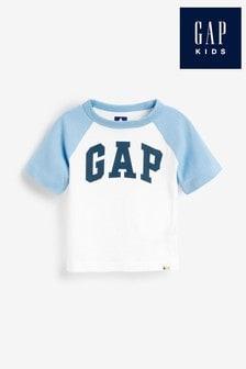 Biele tričko s logom Gap