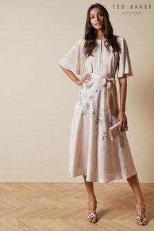שמלתמידיבהדפסזר פרחים דגםErla שלTed Baker