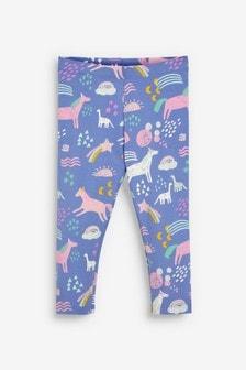 Unicorn All Over Print Leggings (3mths-7yrs)