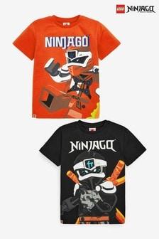 Lot de 2 t-shirts LEGO Ninjago  (2-12 ans)