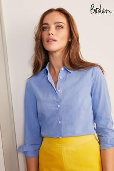 Boden ブルー Modern クラシックシャツ