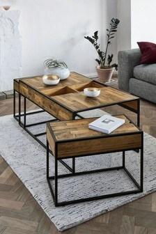 Jefferson Coffee Nest Of 3 Tables