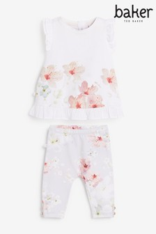 Baker by Ted Baker Baby Girls Set mit Leggings