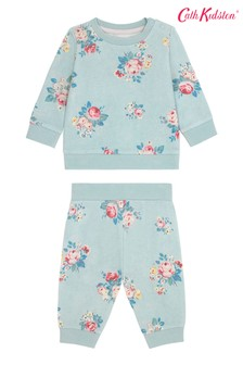 Cath Kidston® Baby Briar Rose Sweatshirt And Jogger Set
