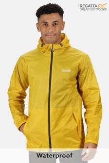 Regatta Yellow Pack It Waterproof Jacket