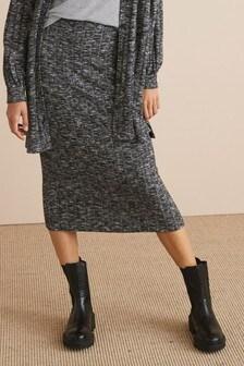 חצאית מידי מאריג נמתח