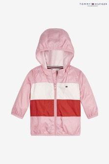 Jachetă cu blocuri de culoare și steag Tommy Hilfiger Baby