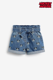 Mickey Mouse Paperbag Shorts (3mths-7yrs)