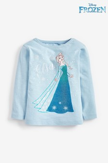 Elsa Disney™ Frozen Licence Long Sleeve T-Shirt (3mths-7yrs)