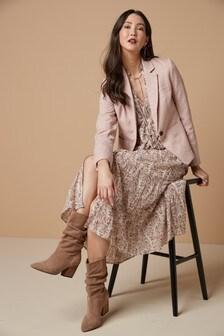 Пиджак с вафельной текстурой