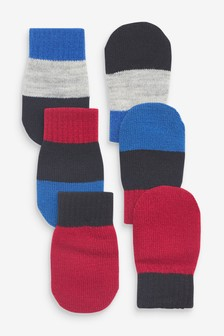 Набор из 3 пар рукавиц  (Младшего возраста)
