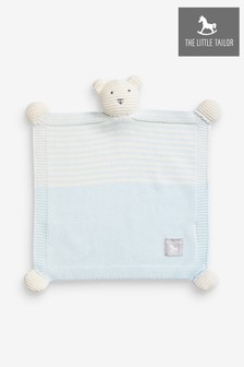The Little Tailor Blue Baby Ted Toy Comforter