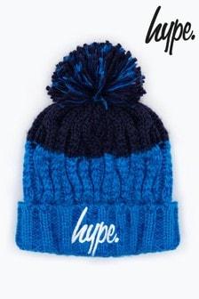 Hype. Apres Ski Pom Pom Beanie Hat