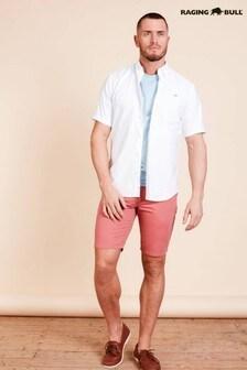 מכנסיצ'ינוקצריםקלאסיים שלRaging Bull בצבעורוד