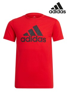 adidas Red Performance Prime T-Shirt