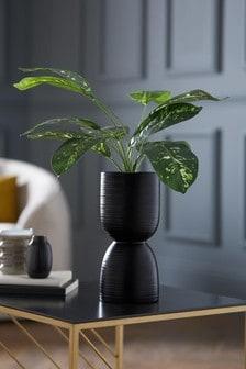 Artificial Calathea Plant In Pot