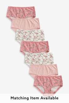7 Pack Floral Briefs (2-16yrs)